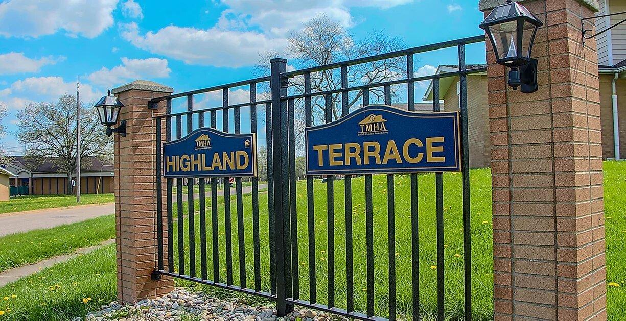 Highland Terrace Gate